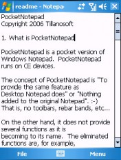PocketNotePad v4.0